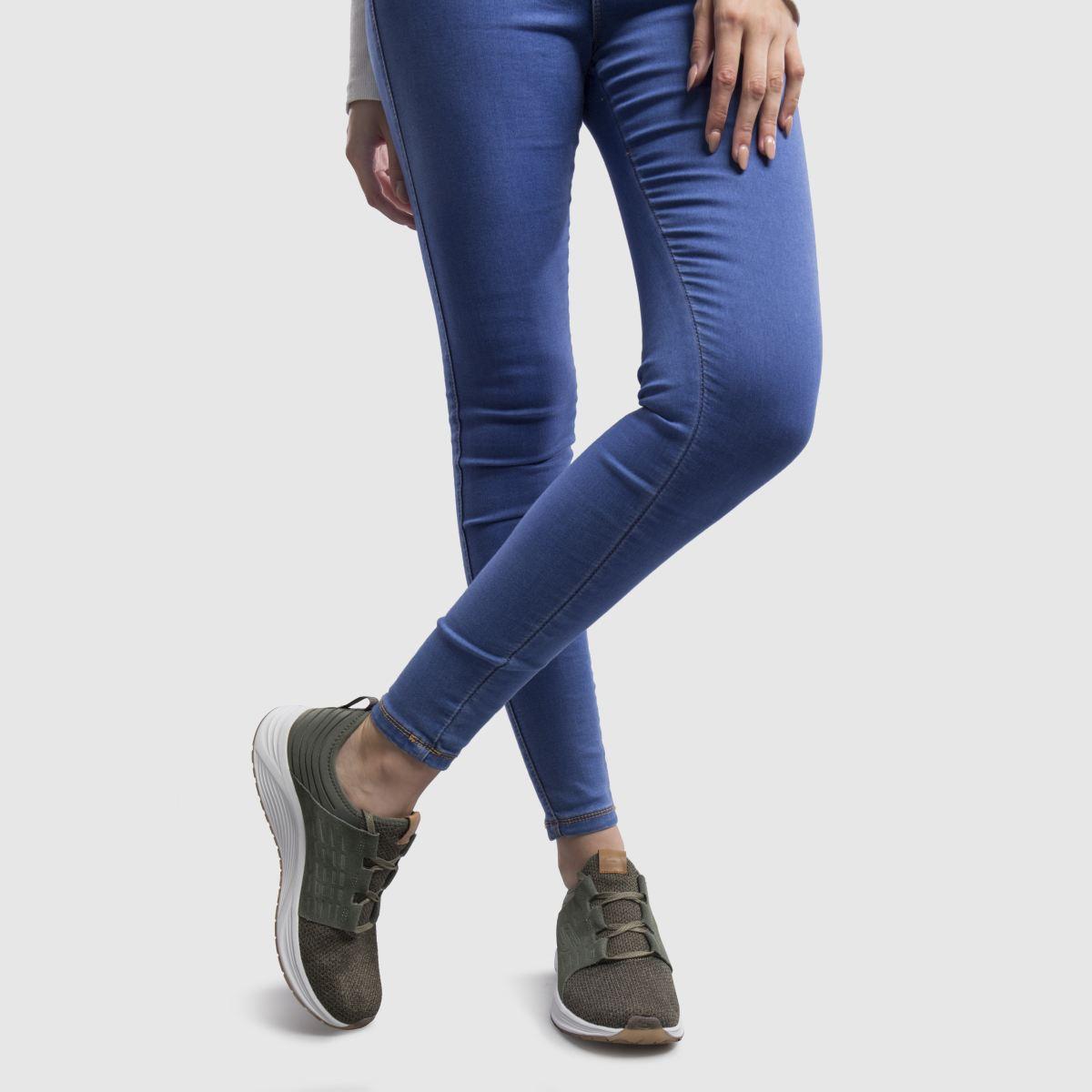 Damen Khaki Skyline Sneaker | schuh Qualität beliebte Schuhe