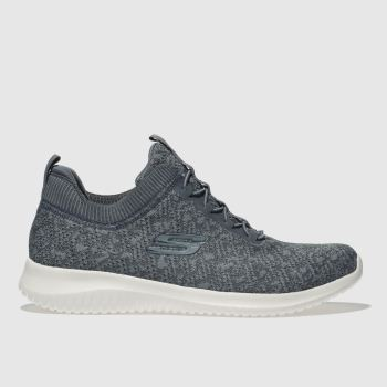 SKECHERS BLUE ULTRA FLEX TRAINERS