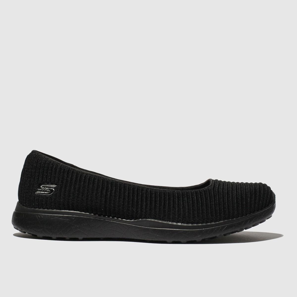 Skechers Black Microburst Trainers