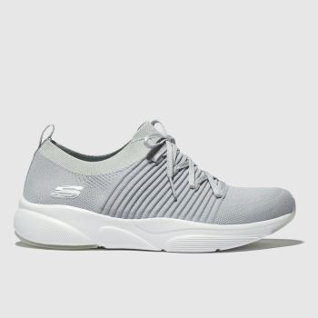 Skechers Light Grey MERIDIAN Trainers