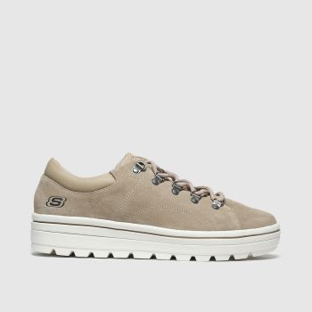 Skechers Beige Street Cleats 2 Fashion Damen Sneaker