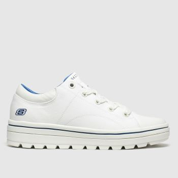 Skechers White Street Cleats 2 Bring It c2namevalue::Womens Trainers