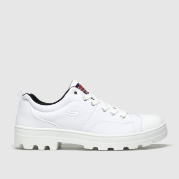 Skechers White Roadies True Roots Trainers