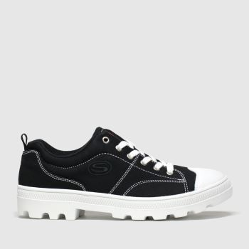 Skechers Black Roadies True Roots c2namevalue::Womens Trainers