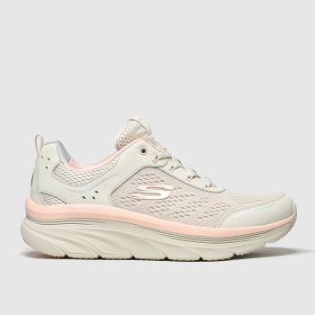 Skechers Pale Pink Skech Max Flex Womens Trainers