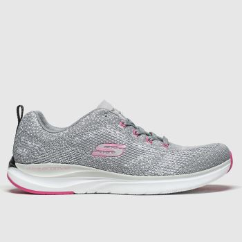 Skechers Grey Ultra Groove Womens Trainers