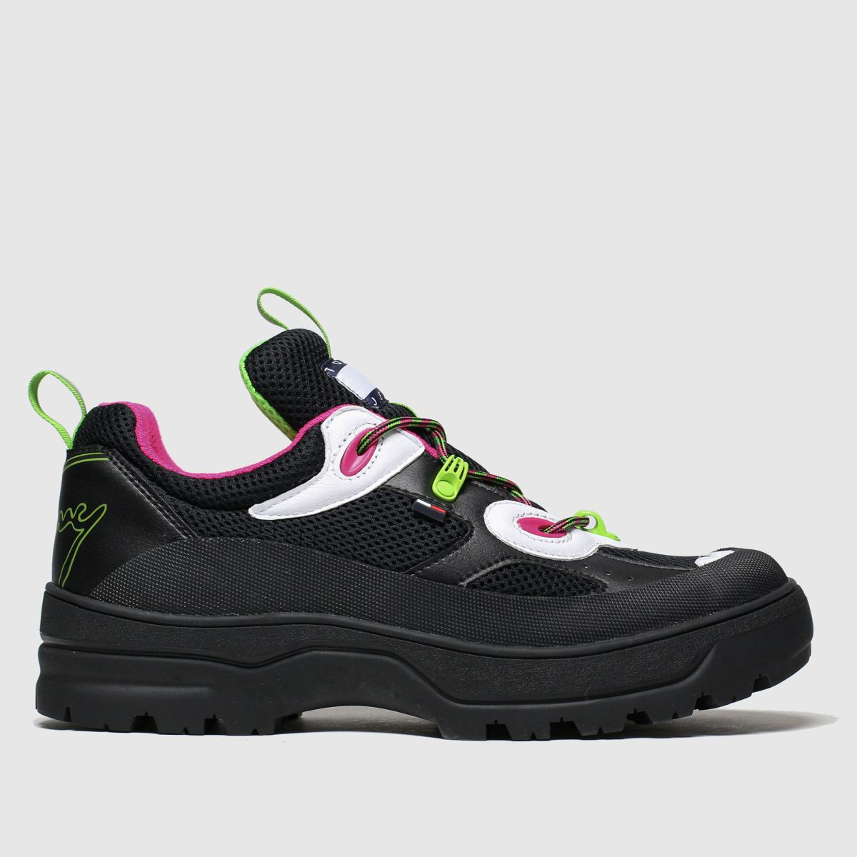 Tommy Hilfiger Black Tj Expedition Trainers