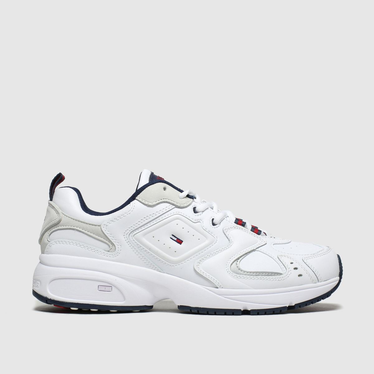 Tommy Hilfiger White Tj Heritage Trainers