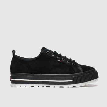 Tommy Hilfiger Black Tj Cleated City c2namevalue::Womens Trainers