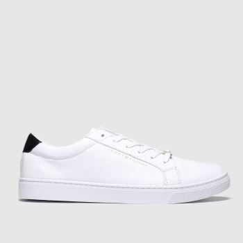 Tommy Hilfiger White Essential Sneaker c2namevalue::Womens Trainers