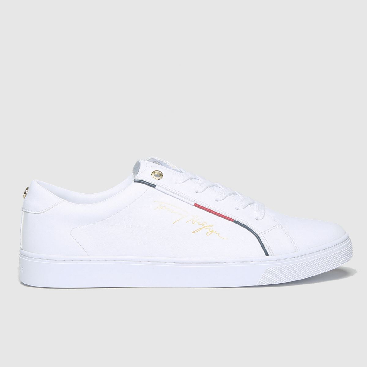 Tommy Hilfiger White Signature Sneaker Trainers