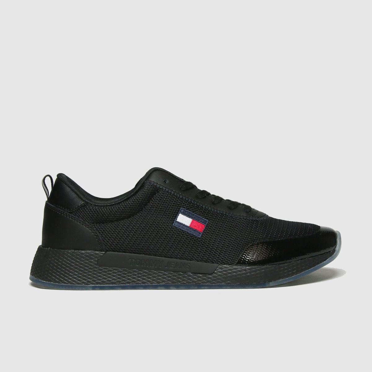 Tommy Hilfiger Black Flexi Runner Sneaker Trainers