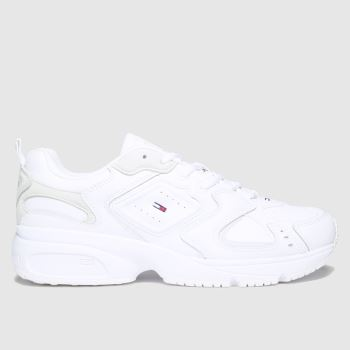 Tommy Hilfiger White Tj Heritage Sneaker c2namevalue::Womens Trainers