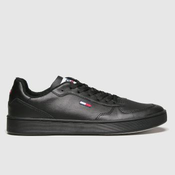 Tommy Hilfiger Black Cupsole Sneaker Trainers