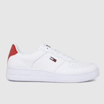 Tommy Hilfiger White Basket Womens Trainers