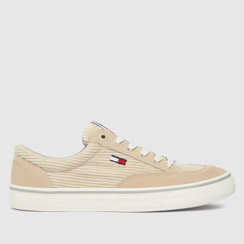 Tommy Hilfiger Stone Corduroy Skate Sneaker Womens Trainers