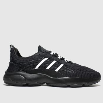 Adidas Black & White Haiwee c2namevalue::Womens Trainers