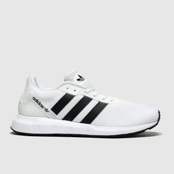 Adidas White & Black Swift Run Rf Trainers