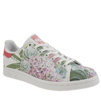 separation shoes 33d2c 845b1 Adidas Stan Smith Flowers Sneakers herbusinessuk.co.uk