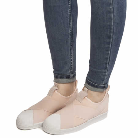 dfde1aaa4352e5 Adidas Superstar Slip On Pink