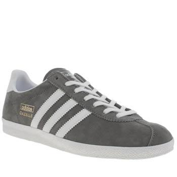 02b6c5cc27029e womens dark grey adidas gazelle og trainers