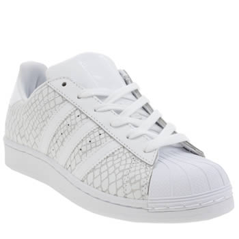 adidas white trainers superstar
