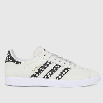 adidas Light Grey Gazelle Womens Trainers
