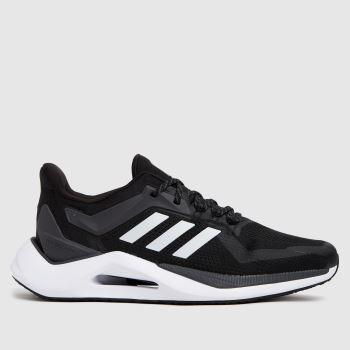 adidas Black & Grey Alphatorsion 2.0 Womens Trainers