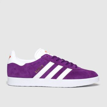 Adidas Purple Gazelle Womens Trainers