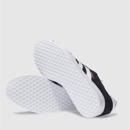 adidas gazelle white black