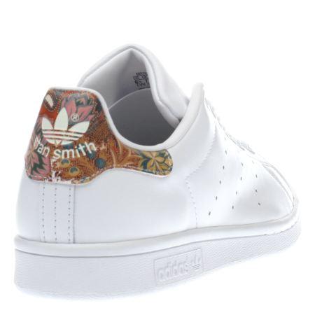 super cute pretty cheap sells adidas stan smith w flower,Chaussure The Farm Company x ...