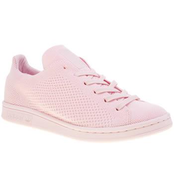 pretty nice cd141 b0ddb womens pink adidas stan smith primeknit pack trainers | schuh