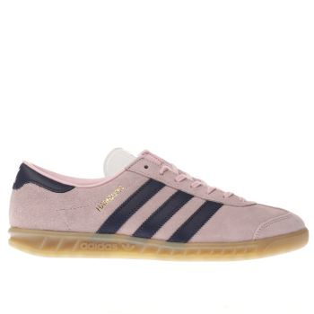 Adidas Pink Hamburg Womens Trainers