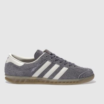Adidas Grey Hamburg Womens Trainers