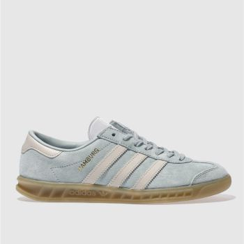 Adidas Green Hamburg Womens Trainers