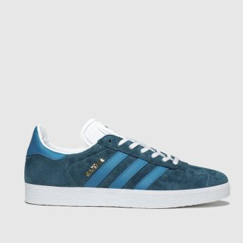 Adidas Turquoise Gazelle c2namevalue::Womens Trainers