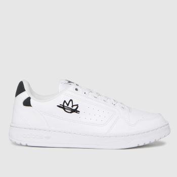 adidas White & Black Ny 90 Womens Trainers