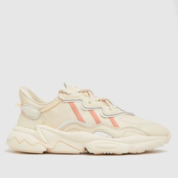 adidas Pale Pink Ozweego Womens Trainers