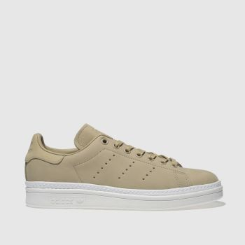 ADIDAS NATURAL STAN SMITH NEW BOLD TRAINERS