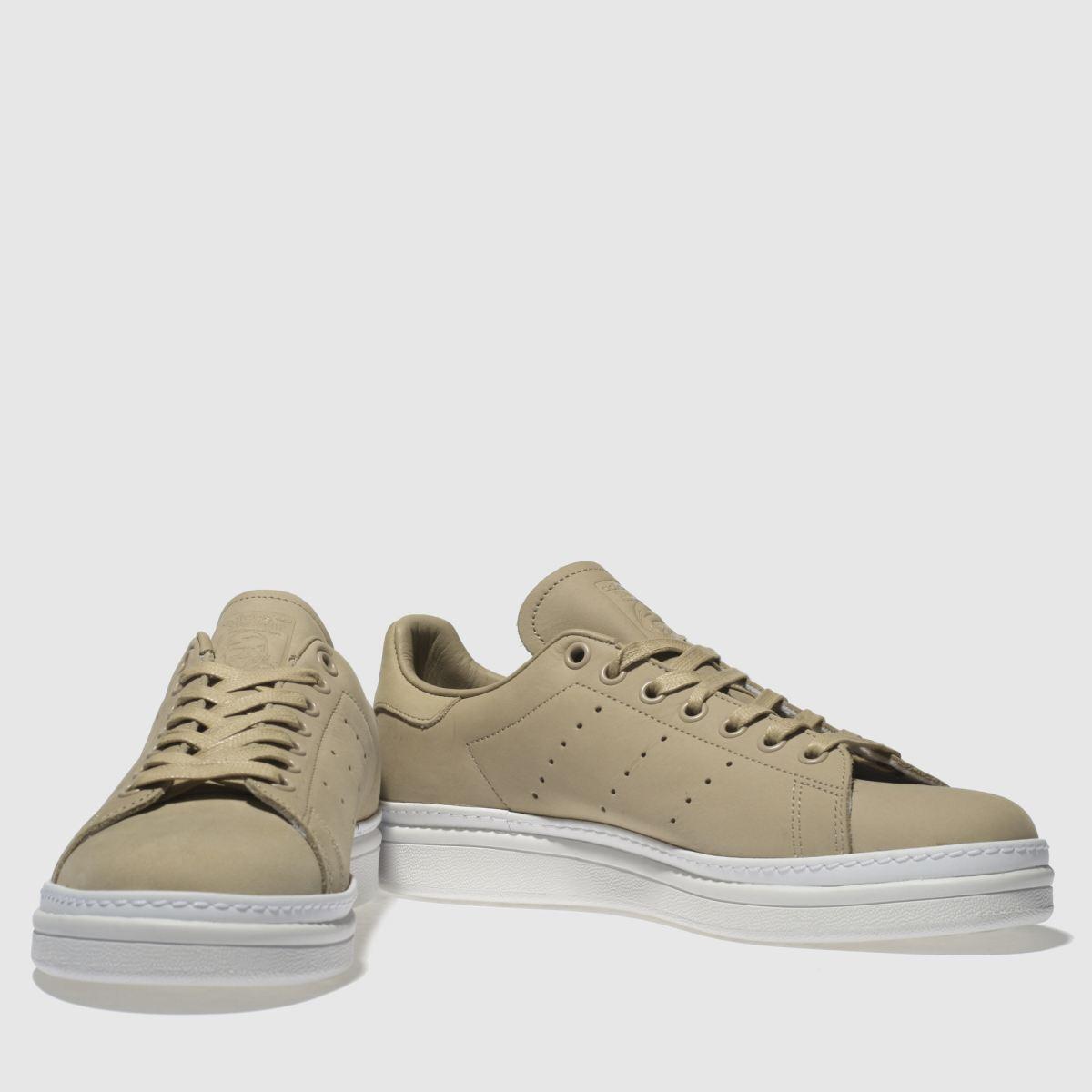 Damen Naturfarben adidas Stan Smith New Bold Sneaker | schuh Gute Qualität beliebte Schuhe