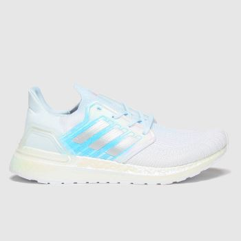 adidas White Ultraboost 20 Womens Trainers