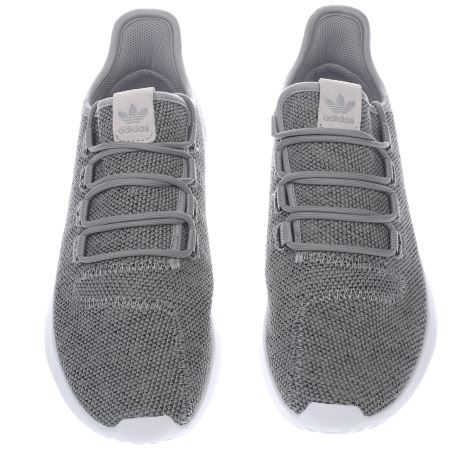 detailing 224d7 789af Adidas Tubular Shadow Knit Grey flagstandards.co.uk