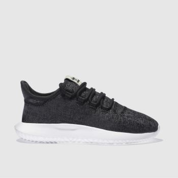half off 596ec d567f ADIDAS BLACK   WHITE TUBULAR SHADOW TRAINERS