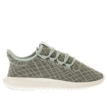 ADIDAS LIGHT GREEN TUBULAR SHADOW TRAINERS