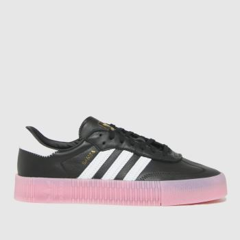 adidas Black Sambarose W Womens Trainers
