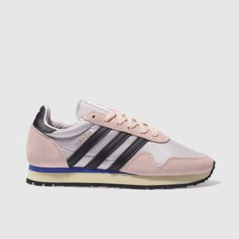 ADIDAS GREY & PINK HAVEN TRAINERS