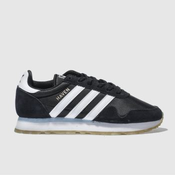 Adidas Black & White HAVEN Trainers
