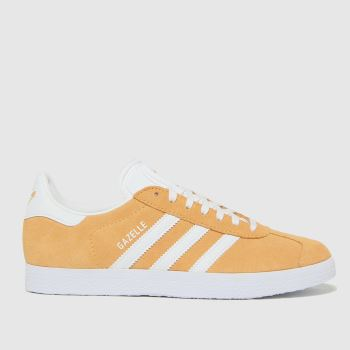 adidas Orange Gazelle Womens Trainers