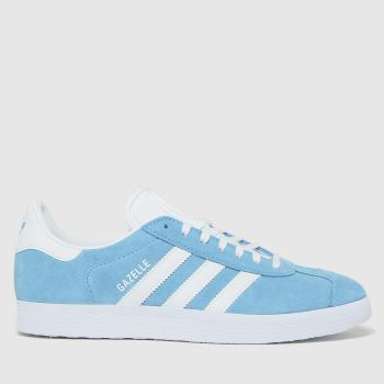 adidas Blue Gazelle Womens Trainers