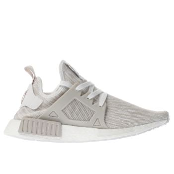 Adidas White Nmd_Xr1 Primeknit Womens Trainers